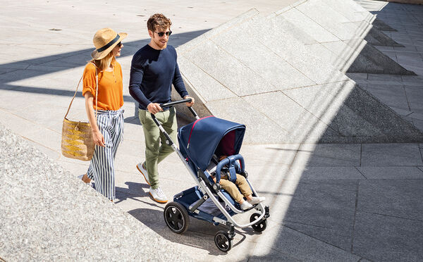 GO NEXT² – the all-in-one pushchair